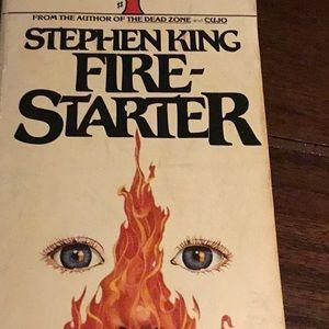 """2 paperback """"Talisman"""" & """"""""Fire Starter"""" by King"""